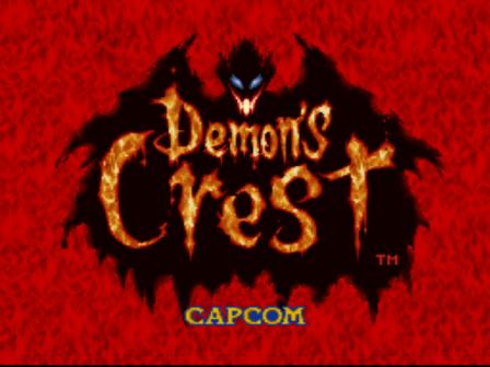 Pantalla de Demon's Crest